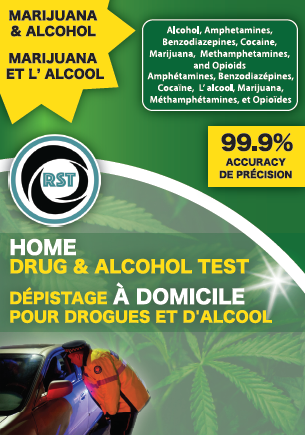 RST Marijuana Home Drug Test